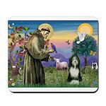 St. Francis & Beardie Mousepad