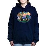 St Francis #2/ BMD Women's Hooded Sweatshirt