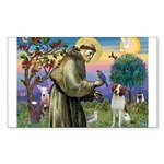 St. Fran. / Brittany Sticker (Rectangle 10 pk)