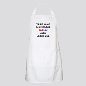 Awesome Slovak Cook Light Apron