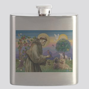 St. Francis Cairn Flask
