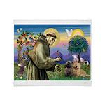 St. Francis Cairn Throw Blanket