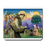 St. Francis Cairn Mousepad