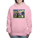 St Francis / Collie Women's Hooded Sweatshirt