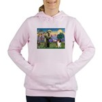 St. Francis & Collie Women's Hooded Sweatshirt
