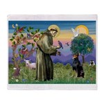 St. Francis Dobie Throw Blanket