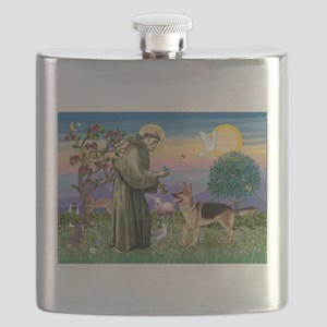 St Francis / G Shep Flask