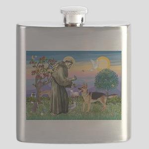 St Francis / G Shep Flask