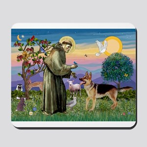 St Francis / G Shep Mousepad