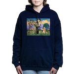 St Francis Golden Women's Hooded Sweatshirt