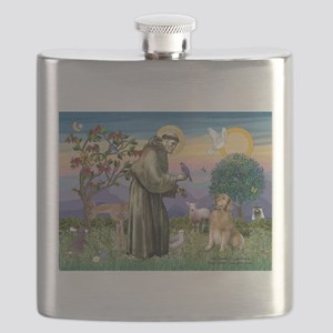 St Francis Golden Flask