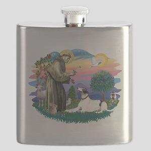 St.Francis #2/ Greyhound Flask