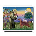 St. Fran./ Irish Setter Mousepad