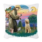 S, Fr, #2/ Italian Spinone Woven Throw Pillow