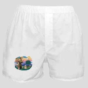 St.Francis #2/ Lhasa Apso (# Boxer Shorts