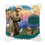 St.Francis #2/ Norwich T Woven Throw Pillow