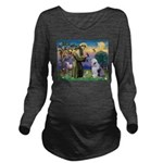 ST. FRANCIS + OES Long Sleeve Maternity T-Shirt