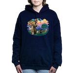 St.Francis #2/ PWD Women's Hooded Sweatshirt