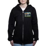 St.Francis (W) - 2 Shelties ( Women's Zip Hood