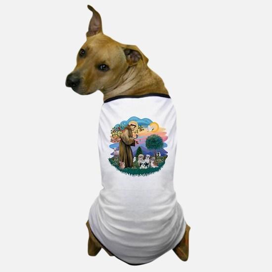St.Francis #2/ Shih Tzus (4) Dog T-Shirt