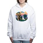 St.Francis #2/ S Husky (W) Women's Hooded Swea