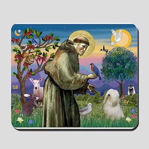 St. Fran #2 / Tibetan Terrier Mousepad