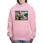 St. Fran #2 / Wheaten Terrier Women's Hooded S