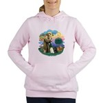 St. Fran (ff) - 3 Persian Cat Women's Hooded S