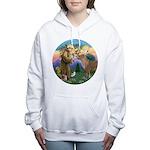 R-St Francis-ShetlandPONY Women's Hooded Sweat