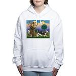 St Francis - 4 Cavaliers Women's Hooded Sweatshirt