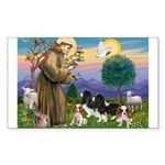 St Francis - 4 Cavaliers Sticker (Rectangle)