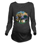 StFrancis-ff-7 cats-BorderCollie Long Sleeve M