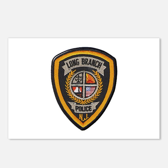 Long Branch Police Postcards (Package of 8)