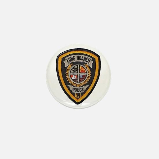 Long Branch Police Mini Button