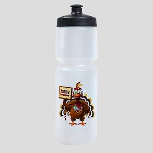 HappyThanksgiving Sports Bottle