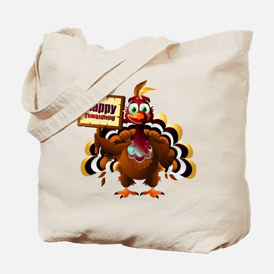 HappyThanksgiving Tote Bag