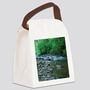 ROCKY STREAM Canvas Lunch Bag