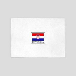 Hrvatska 5'x7'Area Rug