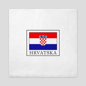 Hrvatska Queen Duvet