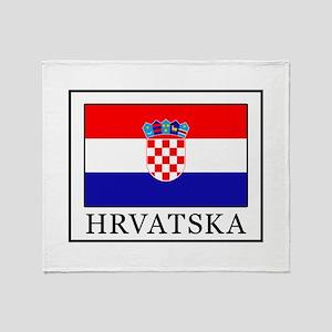 Hrvatska Throw Blanket