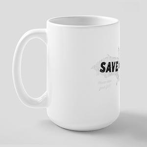 Save the Bats Large Mug