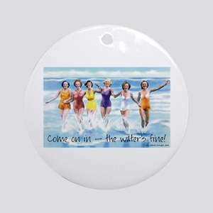 Come on in! Ocean Ornament (Round)
