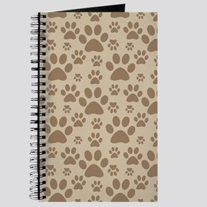 Dog / Cat Paw Prints Journal
