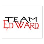 Team Edward Small Poster