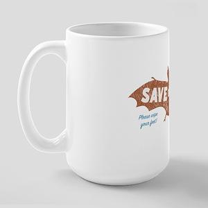 Mammoth Cave Kentucky Bats Large Mug