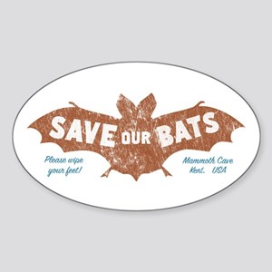 Mammoth Cave Kentucky Bats Sticker