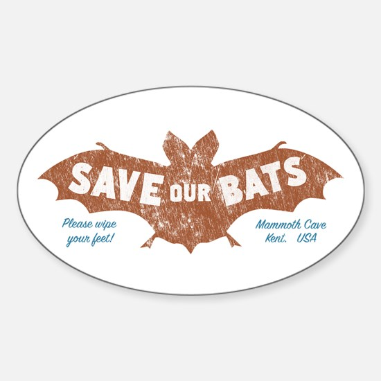 Mammoth Cave Kentucky Bats Bumper Stickers