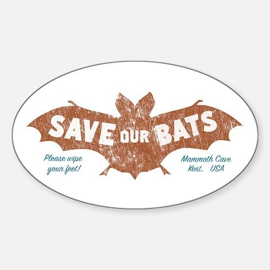 Mammoth Cave Kentucky Bats Decal