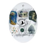 Linandara's art Oval Ornament