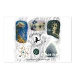 Linandara's art Postcards (Package of 8)